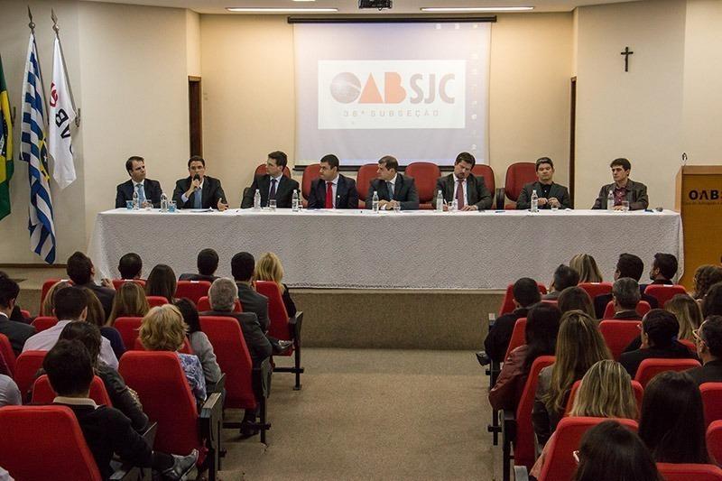 Evento na OAB de São José dos Campos
