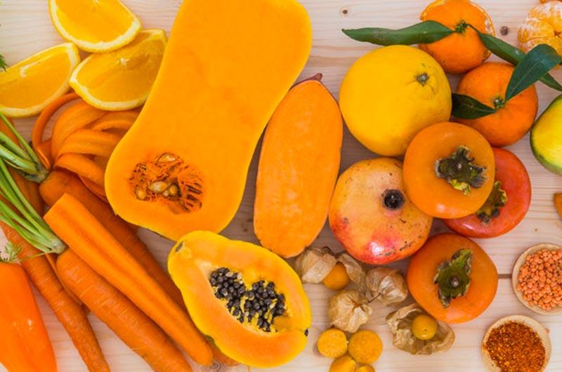 Resultado de imagem para vegetais e frutas  amarelos