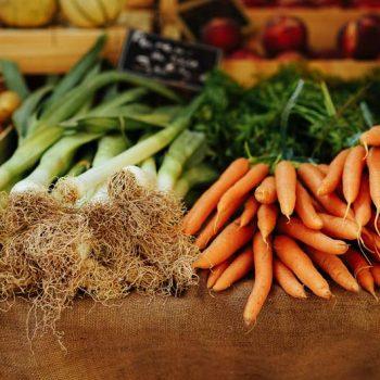 Alimentos Orgânicos na feira